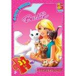 "BA016 Пазли ТМ ""G-Toys"" із серії ""Barbie"", 35 ел."