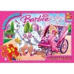 """BA006 Пазли ТМ """"G-Toys"""" із серії """"Barbie"""", 35 елементів"""