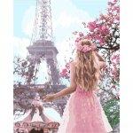 Картина за номерами - Закохана в Париж 2 (КНО4568) 40*50 см