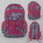 Рюкзак шкільний паєтки, 1 відділення, 2 кишені, м'яка спинка, в пакеті