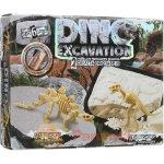 """Набір для проведення розкопок """"Dino Excavation. 2 в 1 Стегозавр і Теранозавр"""" - Danko Toys"""