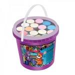 Крейда кольорова Jumbo у відрі, 16 шт. Danko Toys