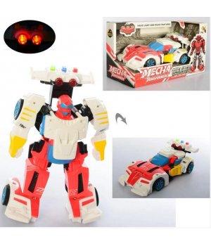 Трансформер D622-H047 робот + машинка, світло, муз., бат. (табл.), кор., 24-13-11,5 см.