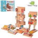 Дерев'яна іграшка Доміно ,28 дет., кор., 14-12-4 см.