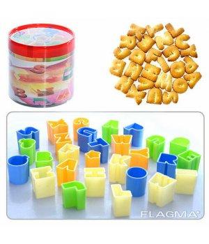 Формочки фігурні для печива пластикові Букви анг.