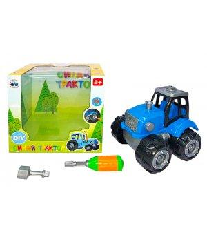 Трактор , викрутка в наборі, в кор. 18*12,5*16см